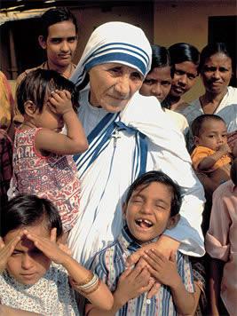 Personas que inspiran con su VIDA: Madre Teresa de Calcuta