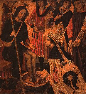 Nb pinacoteca huguet st augustine washing the feet of christ.jpg