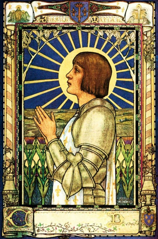 a biography of joan of arc a heroine of france and a roman catholic saint Joan of arc, nicknamed the maid of orléans, is considered a heroine of france for her role during the lancastrian phase of the hundred years' war, and was canonized as a roman catholic saint joan of arc was born to jacques d'arc and isabelle romée, a peasant family, at domrémy in north-east france.