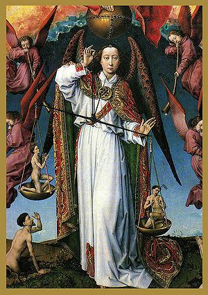1005 2 San Miguel Pol Juicio Final-R van der Weyden-Hotel Dieu-Beaune.jpg