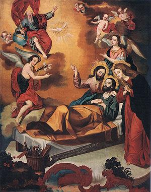 Resultado de imagen para La muerte de San José