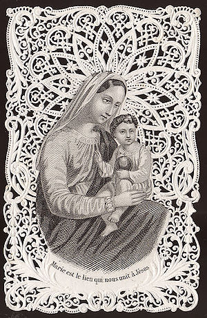 Mary is the cord that binds us to Christ.jpg