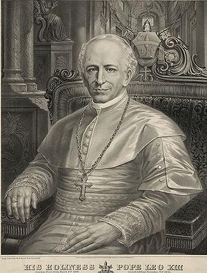 Resultado de imagen para León XIII y La primera encíclica pontificia sobre san José