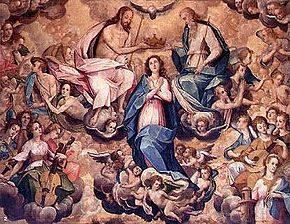 La coronacion de la Virgen Maria - B Bitti sj.jpg
